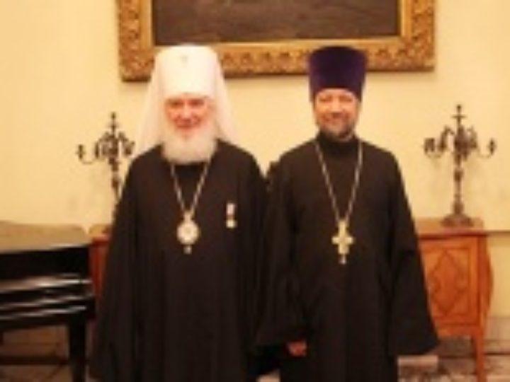 Председатель Издательского Совета награжден медалью «За усердные труды на ниве духовного просвещения»