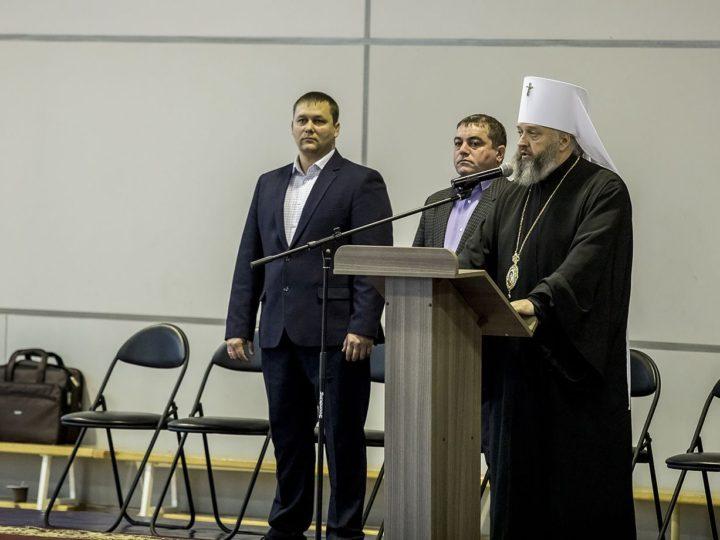В Кемерове состоялся II Областной турнир по вольной борьбе на Кубок митрополита Аристарха
