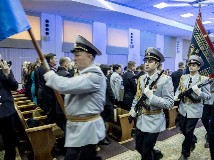11 ноября 2019: Глава Кузбасской митрополии поздравил сотрудников МВД с их профессиональным праздником