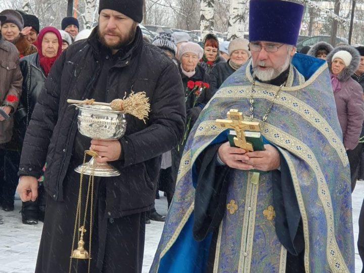 В селе Новокузнецкого района освящён памятник воинам Великой Отечественной войны