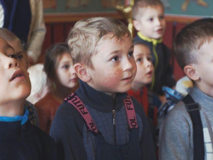 Воспитанники православной группы детского сада посетили кафедральный собор Таштагола