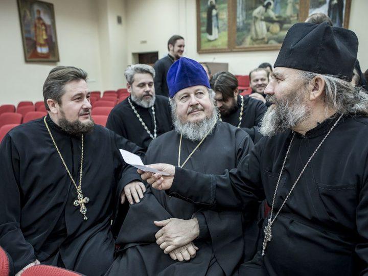 15 ноября 2019 г. Заседание Архиерейского совета Кузбасской митрополии