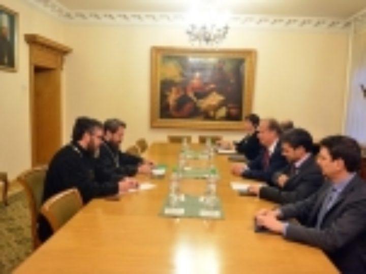 Состоялась встреча председателя ОВЦС с главой делегации Международного Комитета Красного Креста в Сирийской Арабской Республике