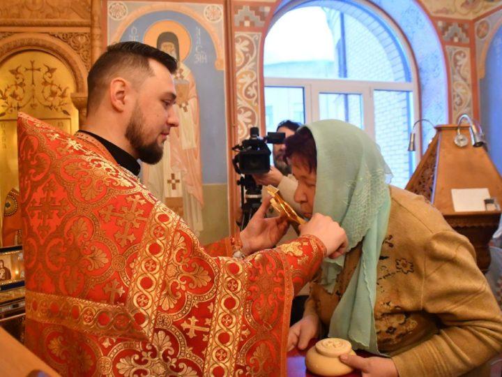 В домовом храме Кемеровского епархиального управления отметили престольный праздник