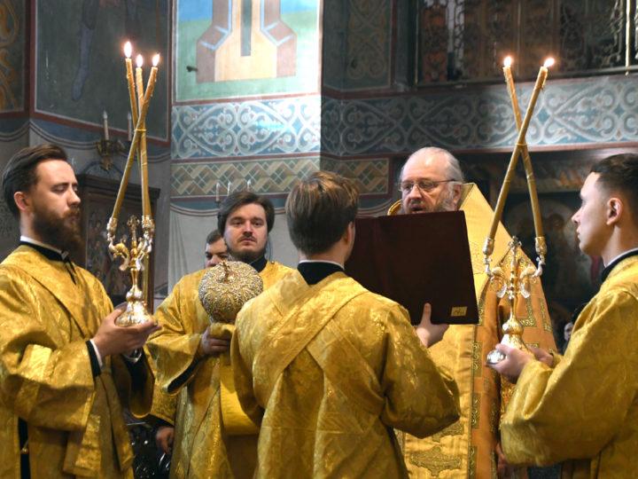 Глава митрополии возглавил традиционную молитву о благополучии Кузбасса