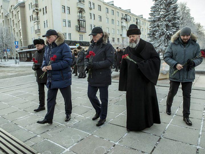 Кузбассовцы отдали дань памяти Неизвестному солдату
