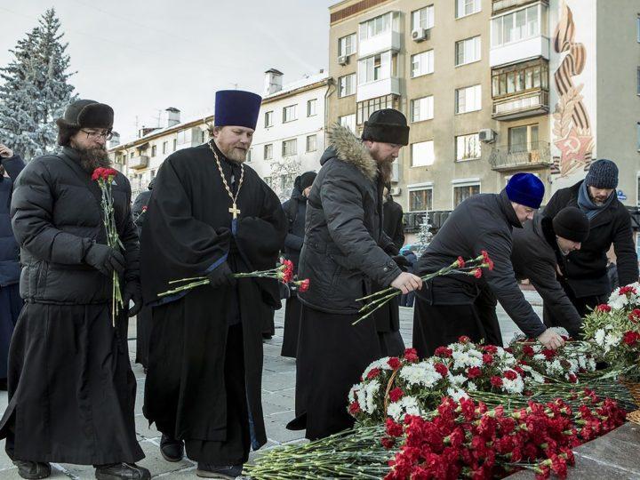 3 декабря 2019 г. День неизвестного солдата в Кемерове