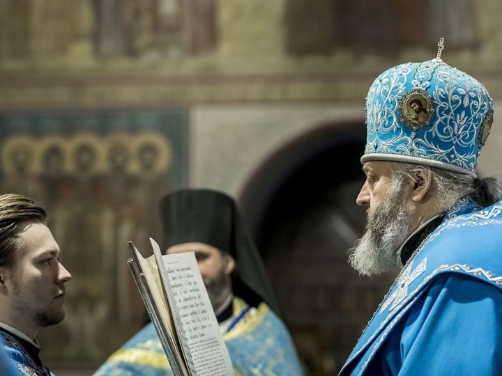 4 декабря 2019 г. Праздник Введения во храм Пресвятой Богородицы в Знаменском кафедральном соборе