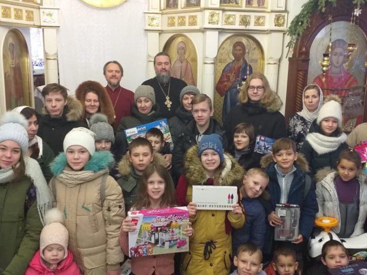 В Кемеровской епархии подвели итоги Всероссийской акции «Дари радость на Рождество»
