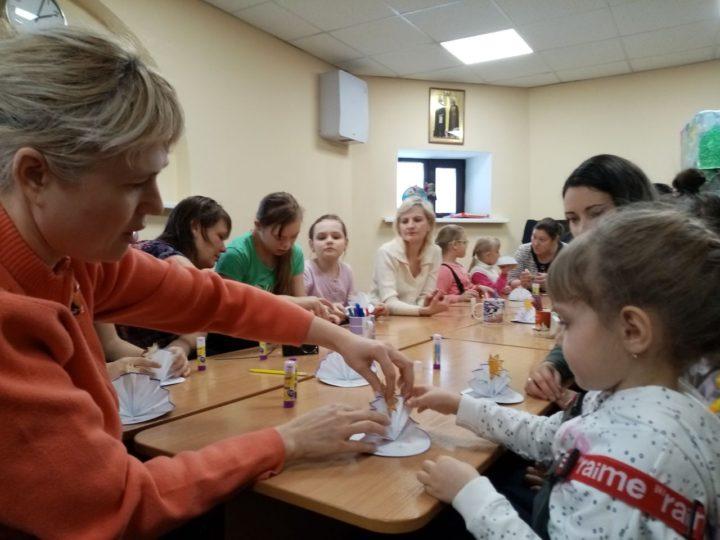 В кемеровском храме прошло мероприятие для детей-инвалидов