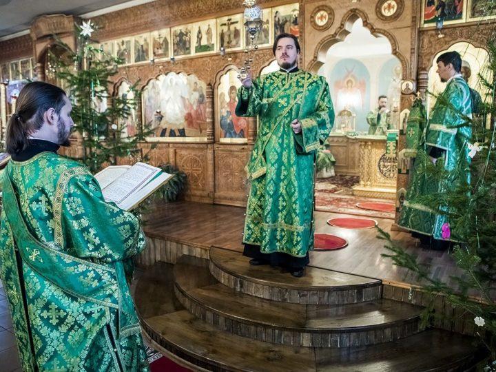 15 января 2020 г. Престольный праздник храма преподобного Серафима Саровского в Полысаеве
