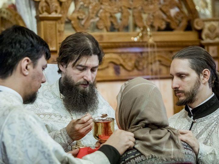 18 января 2020 г. Навечерие Богоявления в храме благоверного князя Александра Невского в Кемерове