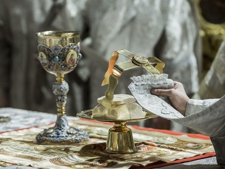 19 января 2020 г. Празднования Крещения Господня в Знаменском соборе Кемерова