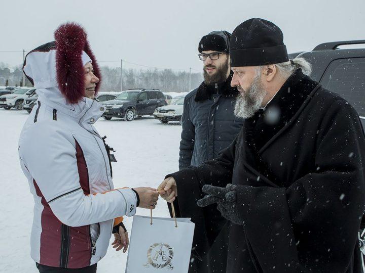Митрополит Аристарх посетил иордань в Елыкаеве