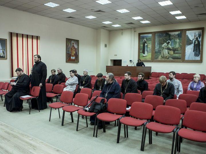 В Кемерове состоялось первое в текущем году заседание Епархиального совета