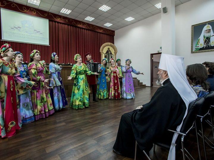 В Кузбасской семинарии состоялся торжественный акт, посвящённый Рождеству Христову