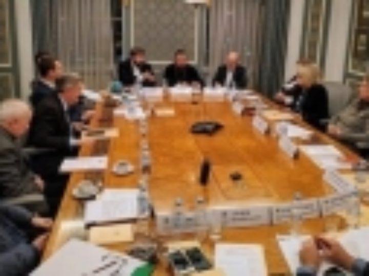 Состоялось внеочередное заседание Бюро Президиума ВРНС