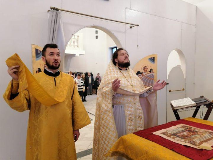 Кемеровский приход отметил пятилетие литургической жизни