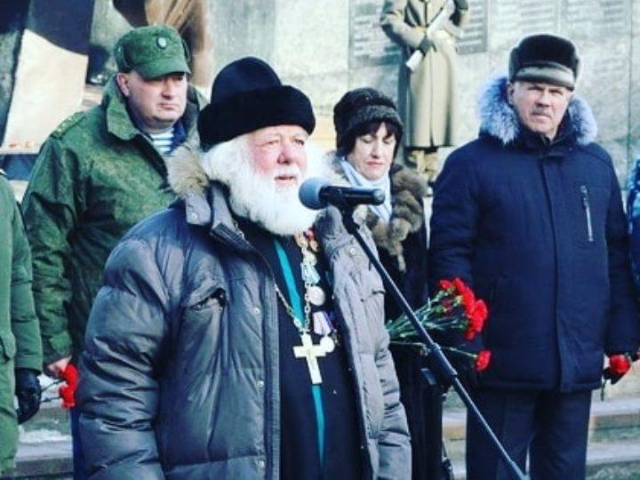 У мемориала воинам-кузбассовцам прошли мероприятия, посвящённые окончанию войны в Афганистане