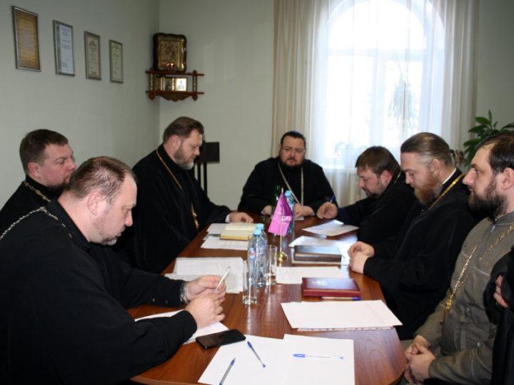 В Мариинской епархии прошёл епархиальный совет