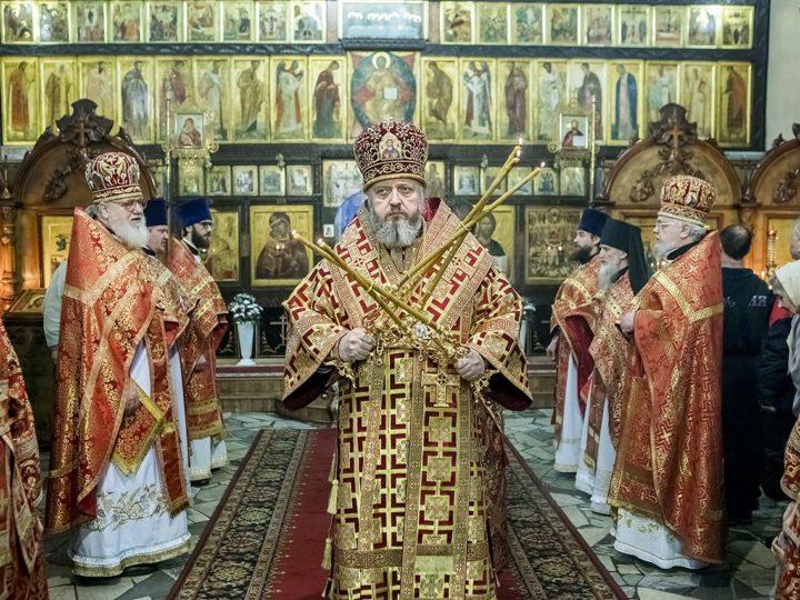 В день памяти Новомучеников и Исповедников Русской Церкви престольный день встретил храм в Ленинске-Кузнецком