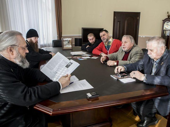Глава митрополии встретился с членами Союза писателей и общественных организаций Кузбасса
