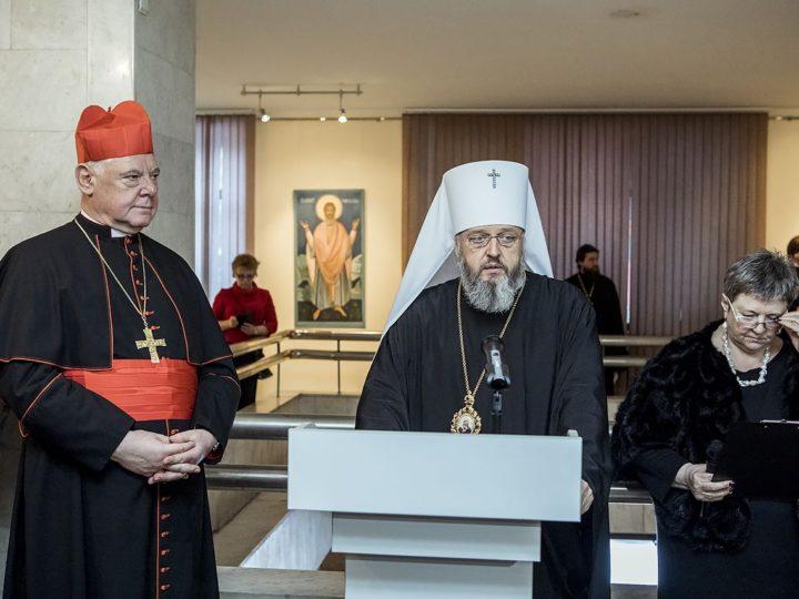 Слово митрополита Аристарха на открытии выставки икон «Святые неразделённой Церкви»