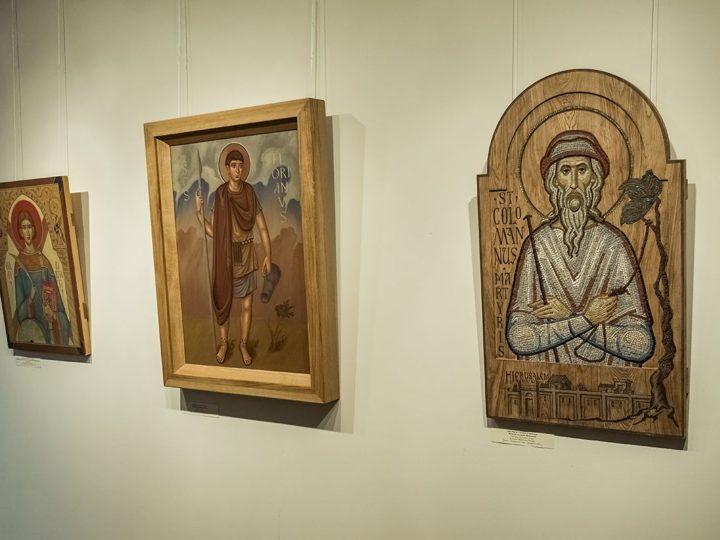 17 февраля 2020 г. Участие митрополита Аристарха в церемонии открытия выставки «Святые неразделённой Церкви» в Музее изобразительных искусств