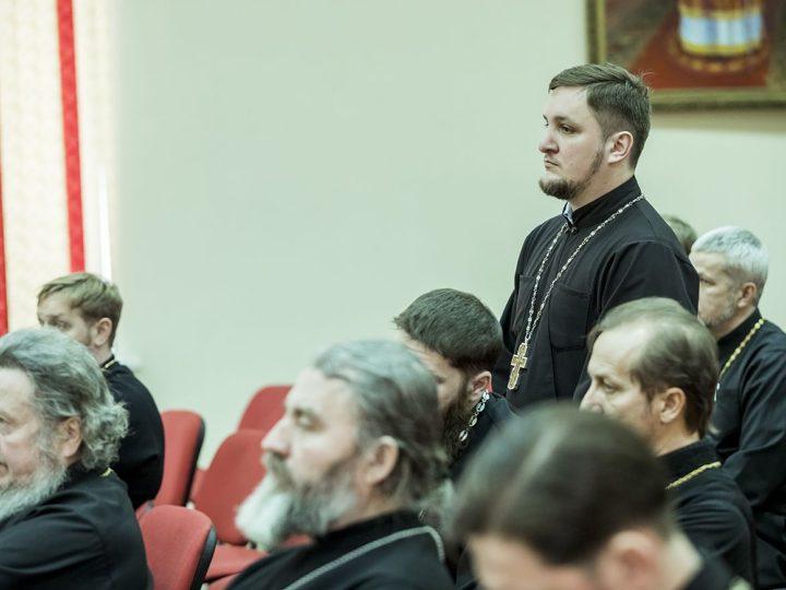 26 февраля 2020 г. Заседание Епархиального совета в Кемерове