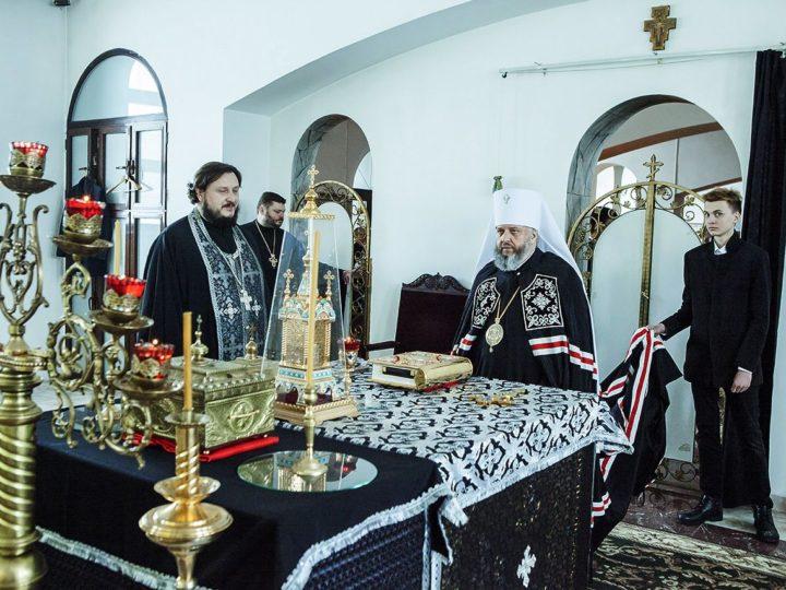 3 марта 2020 г. Чтение Великого канона во вторник первой седмицы в Троицком храме Кемерова