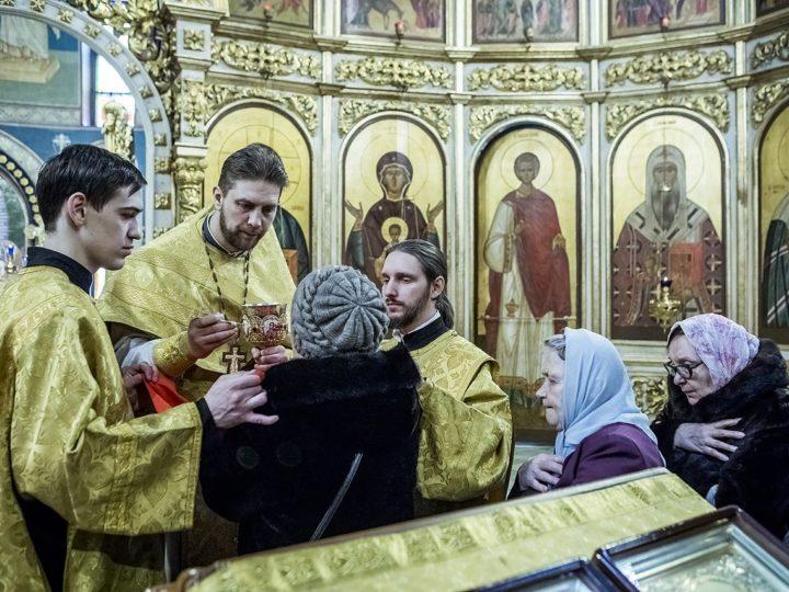8 марта 2020 г. Чин Торжества Православия в Знаменском кафедральном соборе