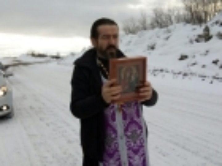 Автомобильный крестный ход состоялся в Североморске