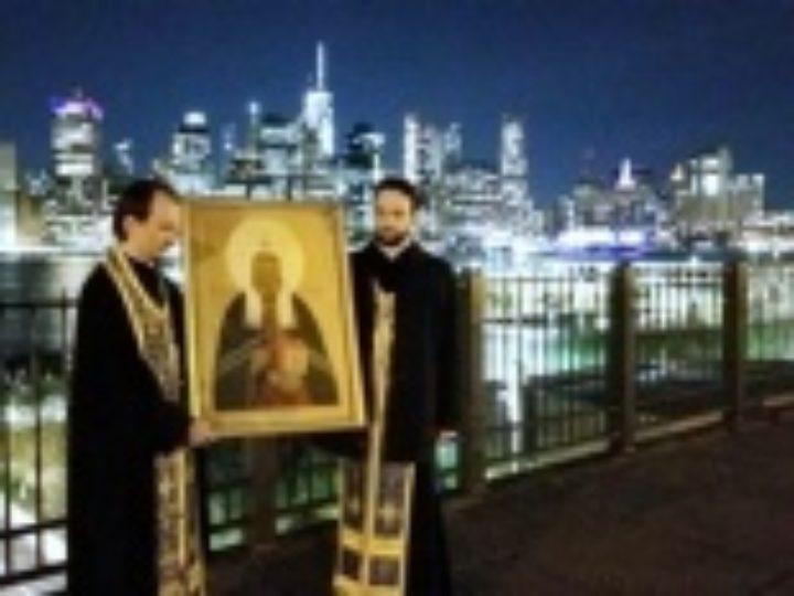 Автомобильный крестный ход по всем районам Нью-Йорка совершило духовенство Николаевского Патриаршего собора
