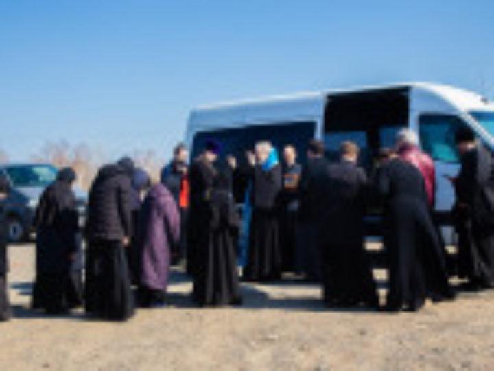 Состоялся автомобильный крестный ход вокруг Красноярска