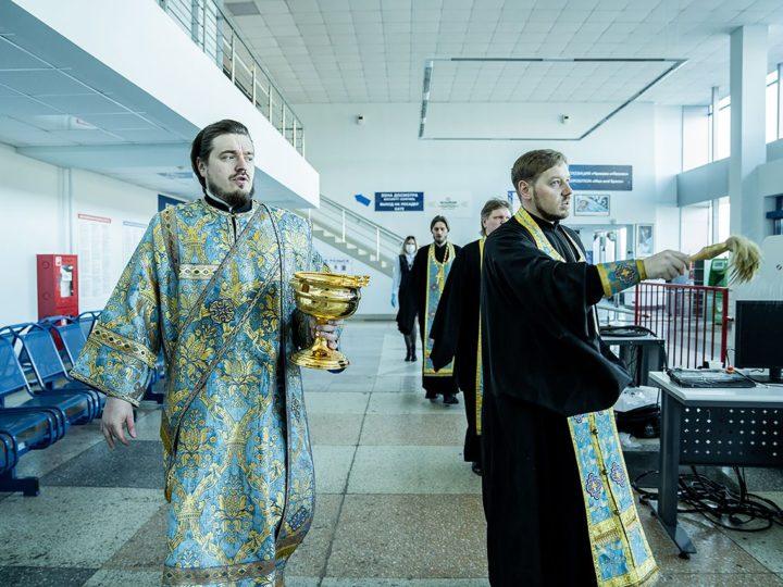 5 апреля 2020 г. Облёт Кузбасса с молитвой об избавлении от коронавируса