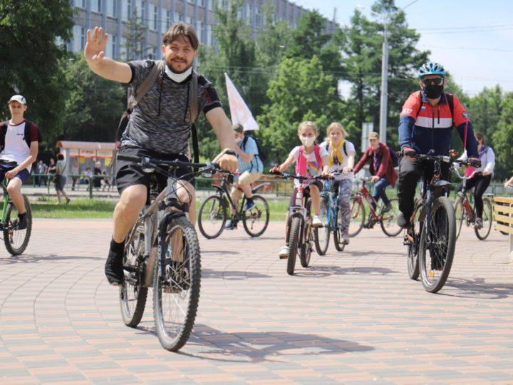 В Новокузнецке состоялся велопробег, посвящённый Дню славянской письменности и культуры