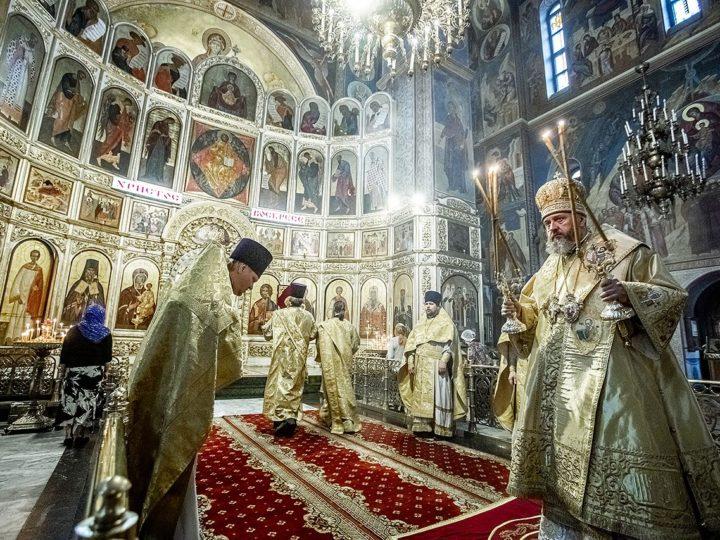 22 мая 2020 г. Празднование памяти святителя и чудотворца Николая, архиепископа Мир Ликийских