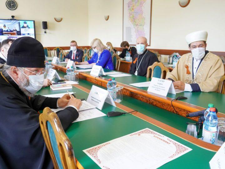Архиереи митрополии приняли участие в межконфессиональном совете при губернаторе Кузбасса