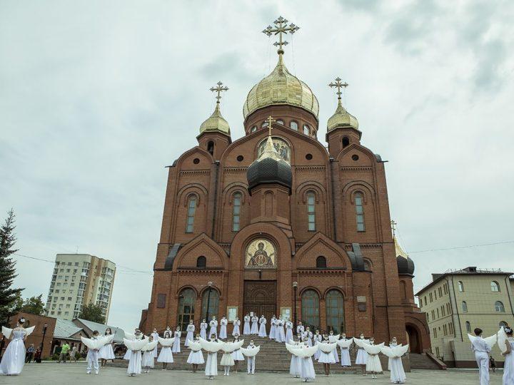 Кузбасская митрополия приняла участие в акции «Весть Победы»