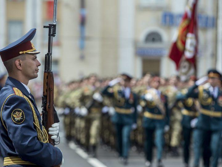 24 июня 2020 г. Участие главы митрополии в Параде Победы в Кемерове