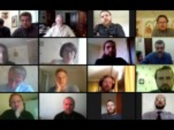 Состоялось онлайн-совещание председателя Синодального отдела по взаимоотношениям Церкви с обществом и СМИ с представителями епархий Приволжского федерального округа