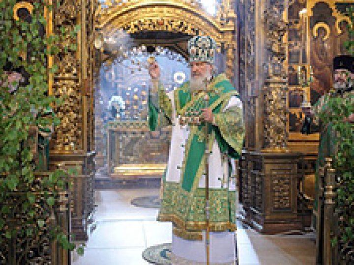 Суть обновления религиозной жизни — в принятии дара Святого Духа, заявил Патриарх