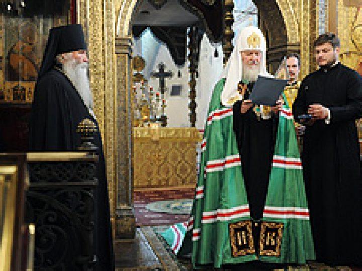 Жизнь Церкви невозможна без участия всех верующих, убежден Патриарх Кирилл
