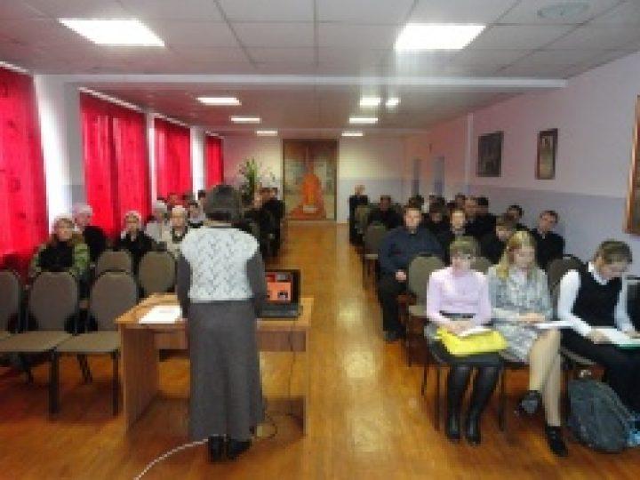 В Новокузнецкой семинарии прошла конференция, посвященная 200-летию победы в Отечественной войне 1812 года