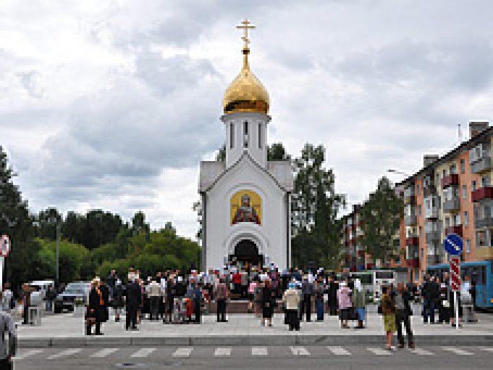 Глава Кузбасской митрополии освятил часовню в память о погибших на «Распадской»