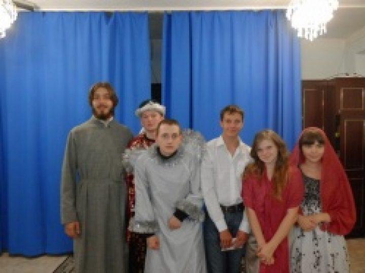 Православная молодежь Междуреченска выступила со спектаклем в реабилитационном центре для несовершеннолетних