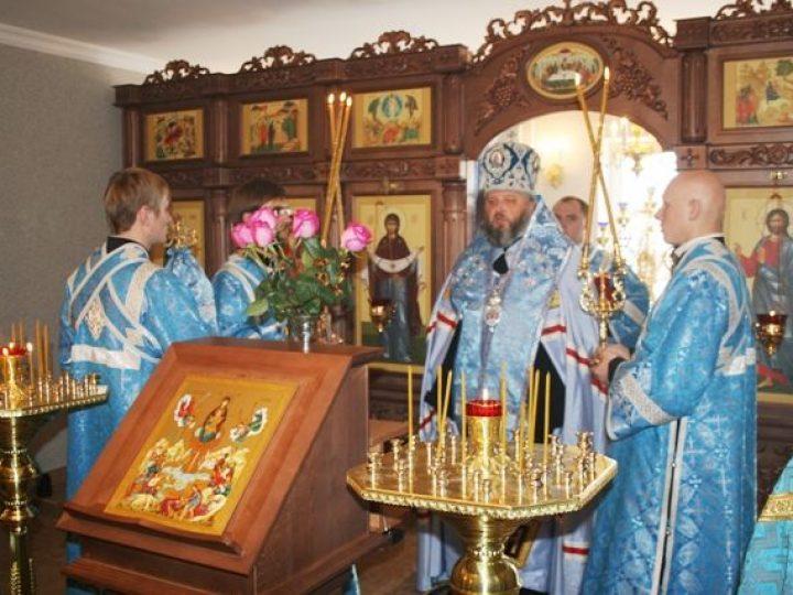 Митрополит Аристарх освятил домовый храм компании Кем-ойл групп