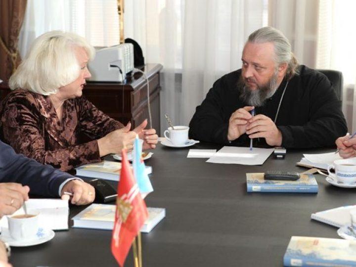 Митрополит Аристарх обсудил с представителями КемГУКИ вопросы сотрудничества вуза и Церкви