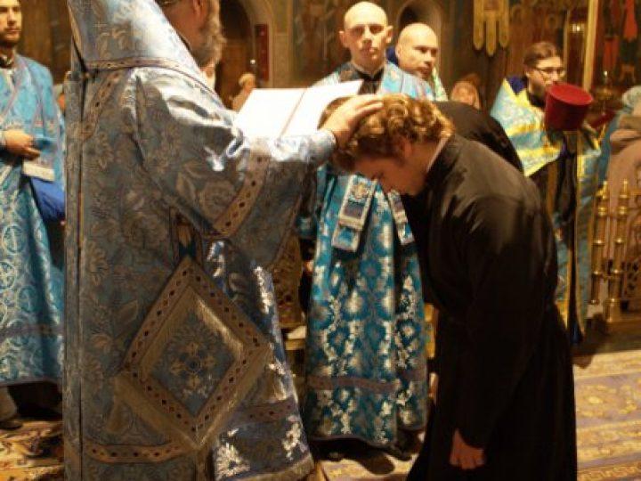 Впервые в истории Русской Православной Церкви в Кузбассе совершен «Чин поставления звонаря»