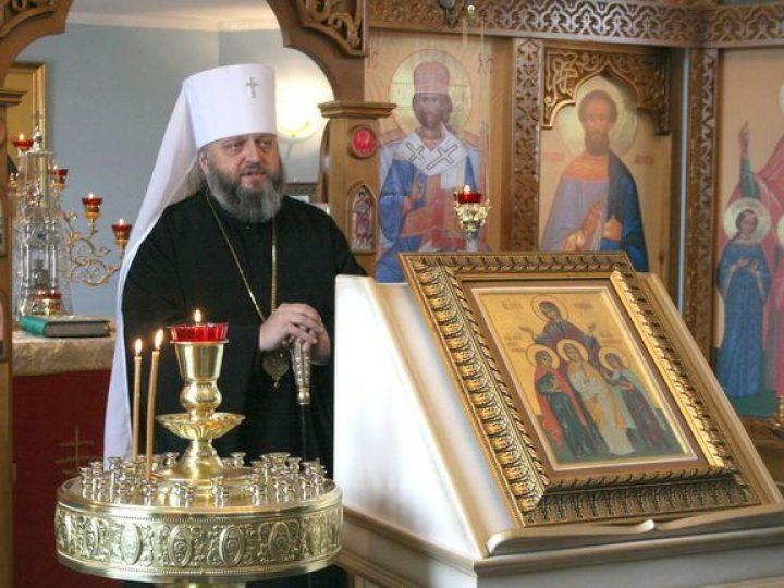 Кузбасский архипастырь совершил освящение храма-часовни в селе Сарбала г. Калтан